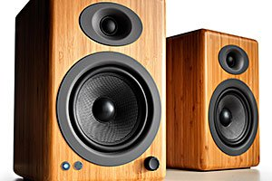 The Audioengine A5+ Wireless Speaker System