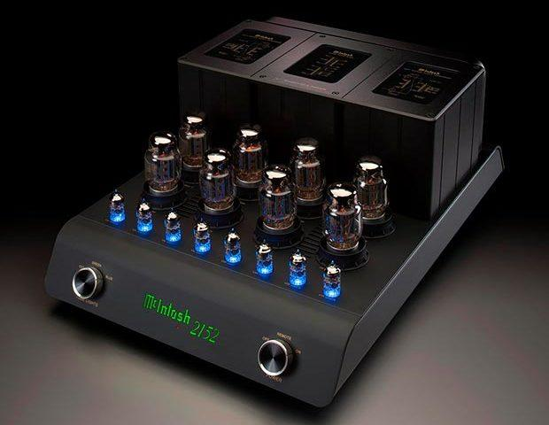 McIntosh MC2152 blue tubes
