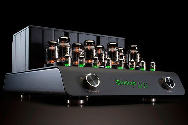 McIntosh MC 2151 green tubes