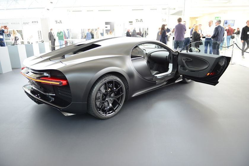 Bugatti Chiron at the HIGH END 2019 in Munich/Germany