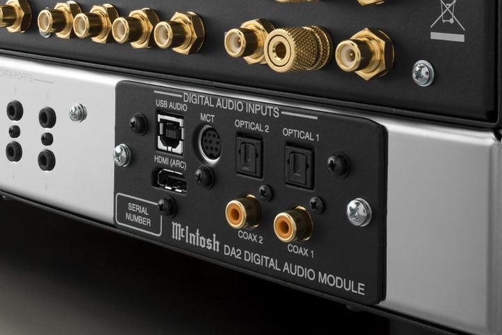 McIntosh DA2 module built-in