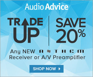 Save 20% when you trade up for an Anthem!