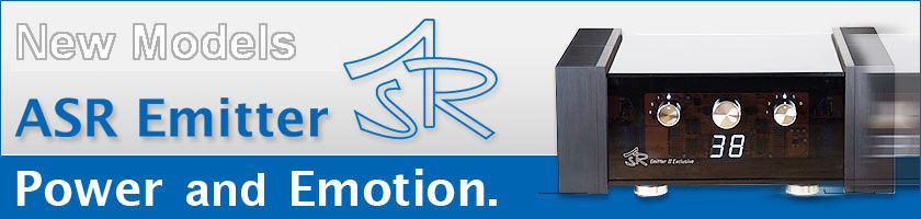 ASR Audio new models