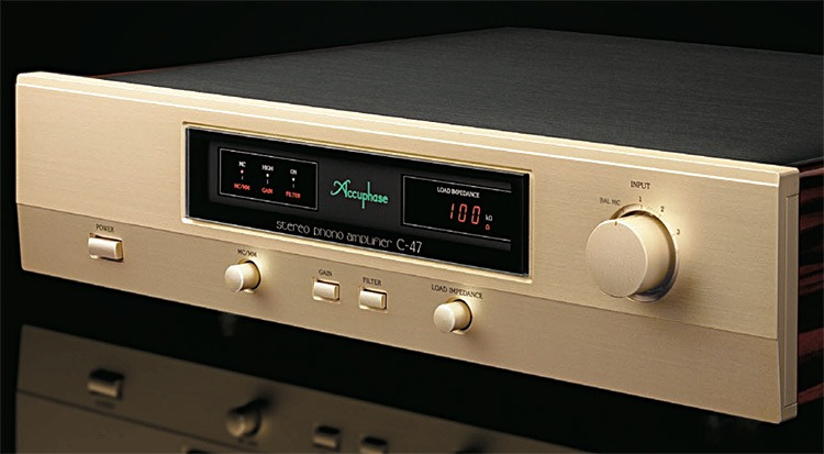 Accuphase C-47 Phono Amplifier