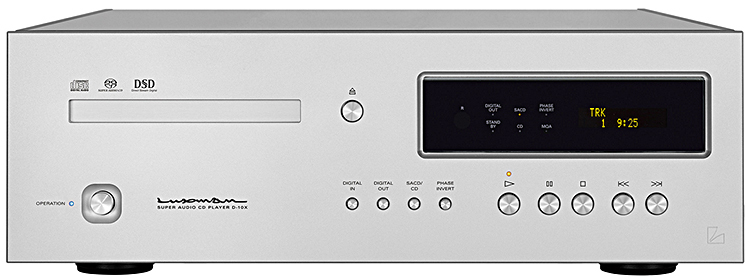 Luxman D-10X SACD/CD-Player