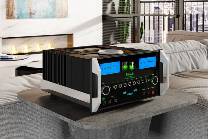 McIntosh MA12000 in the living room