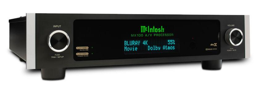 McIntosh MX100 front side