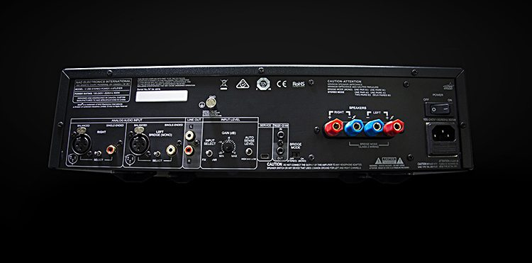 NAD C 298 Power Amplifier