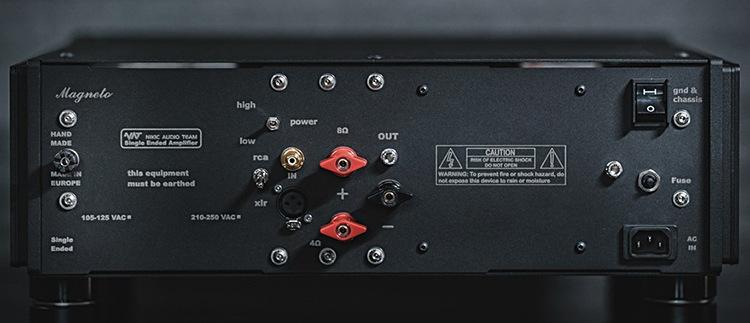 NAT Magneto Hybrid Power Amplifier