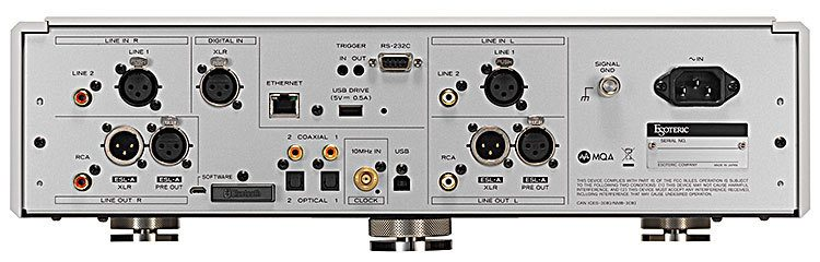 Esoteric N-05XD Network DAC / Preamplifier