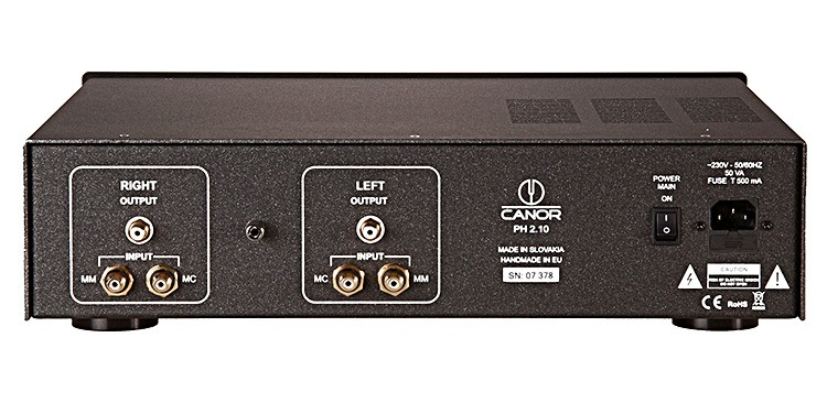 Canor PH 2.10 Phono Tube Preamplifier