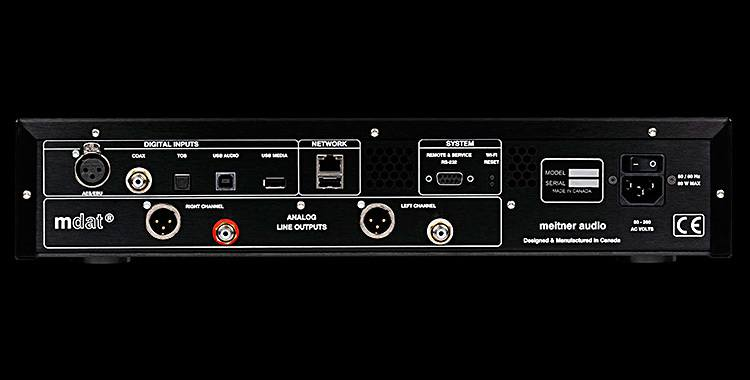 Meitner MA3 integrated D/A Converter